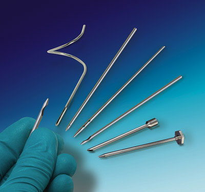 Surgical Instrument Manufacturer Produces Straight and Contoured Needles