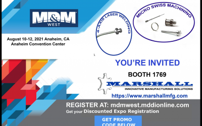 REGISTER NOW for Discounted Ticket to MD&M West